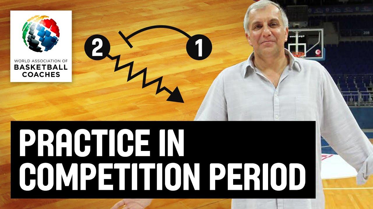 Practice in Competition Period - Željko Obradović -
