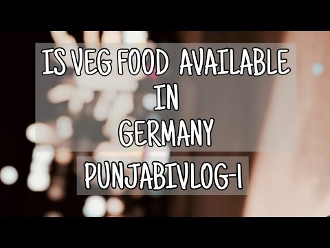 IS VEG FOOD AVAILABLE IN GERMANY ??  : DER TURBANATOR