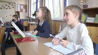 2021-04-20 г. Брест. Изучение польского языка в СШ №9. Новости на Буг-ТВ. #бугтв