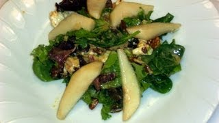 How To Make Gorgonzola Pear Salad Recipe