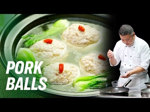 Best Pork Meatballs You'll Ever Eat • Taste The Chinese Recipes Show