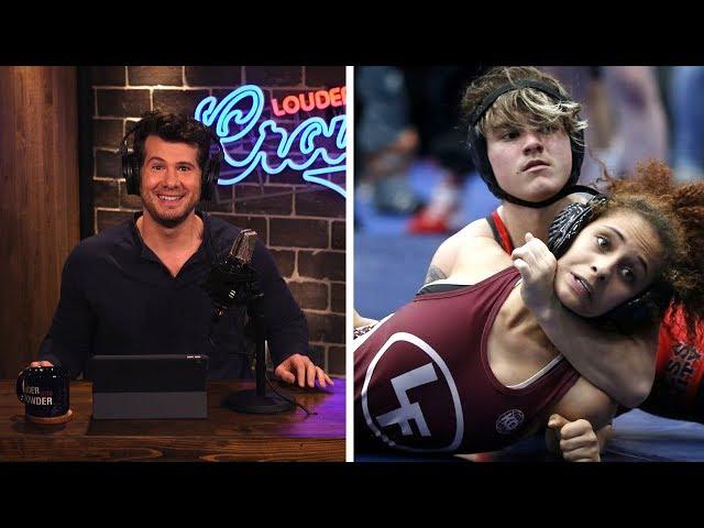 CHAMPION! Transgender High School Wrestler Beating All the Girls!   Louder With Crowder