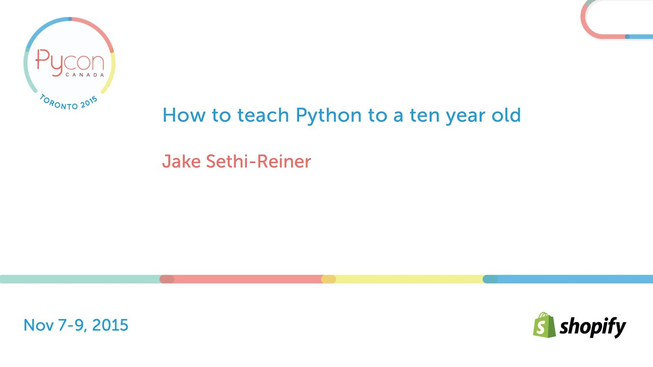Image from How to teach Python to a ten year old