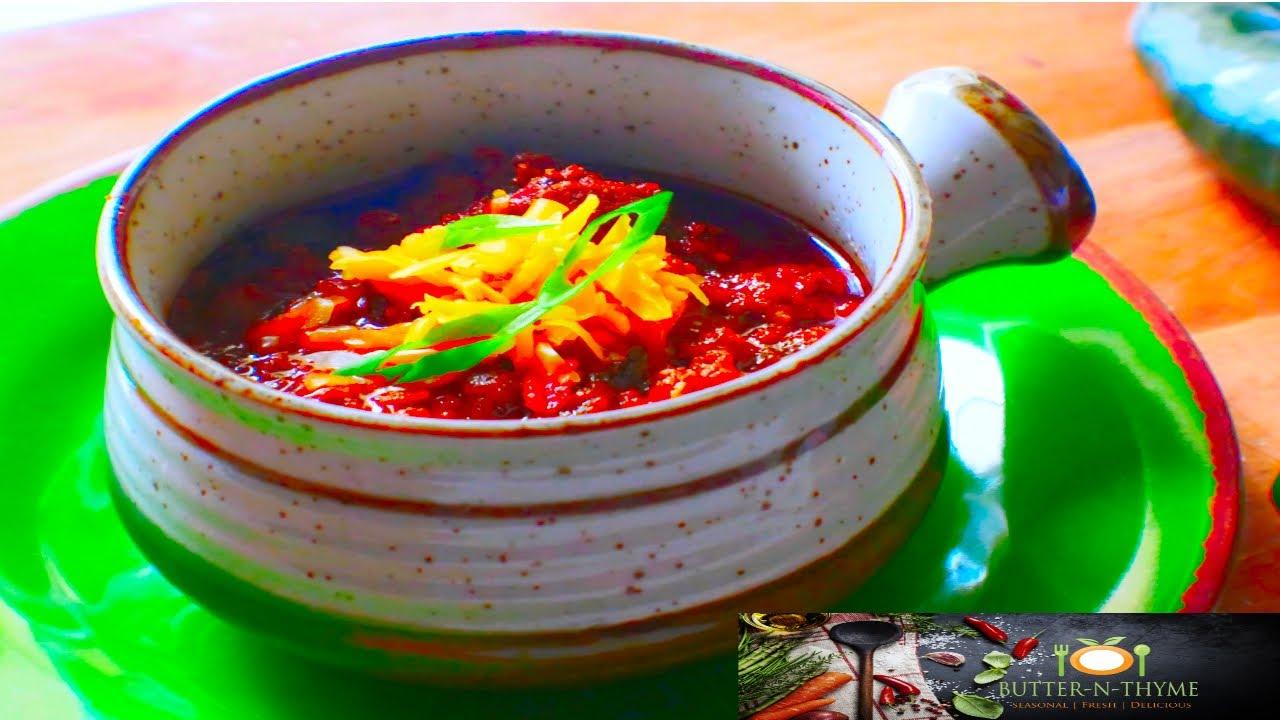 Traditional Texas Chili Chili Cookoff Award Winner Youtube