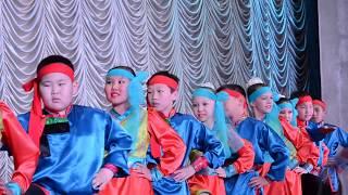 2014 Дети танцуют «Адушунай дуун» (Песня табунщика) ЗНАМЕНИТЫЙ БУРЯТСКИЙ ТАНЕЦ