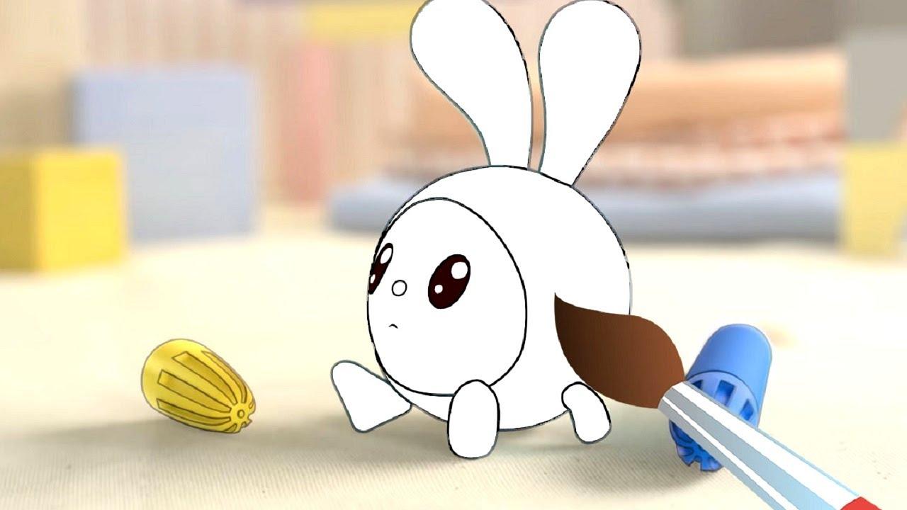 Фломастеры - Малышарики - Мультик раскраска - Учим цвета - обучающее видео для детей