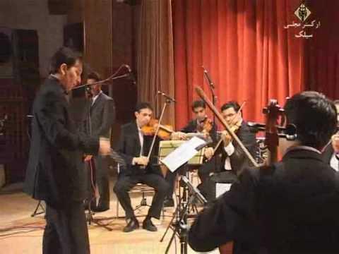 Sialk Chamber Orchestra Concert in Isfahan - Rouhollah Khaleghi - Chang-e Roudaki