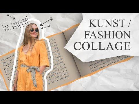 Kunst / Fashion Collage - Adobe Photoshop Tutorial  | PhotoshopHelpGerman