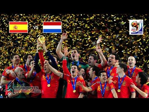 Spain Vs Netherlands 1-0 | FIFA World Cup Final 2010 | All Goals & Highlights Full HD