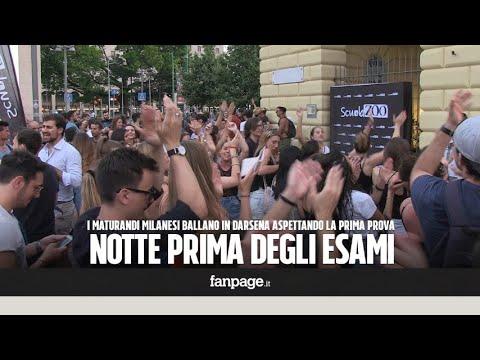 Maturità, la notte prima degli esami a Milano tra alcool, musica e balli: