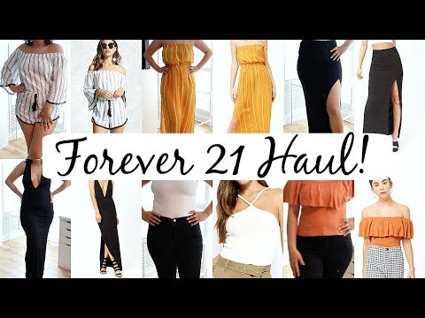 d3147b211e Forever 21 Summer 2018 Haul/Try-on/Fails! - YouTube