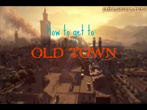 Dying Light: Tutorial - How to get to Old Town/Sector 0 Mission: The Saviours