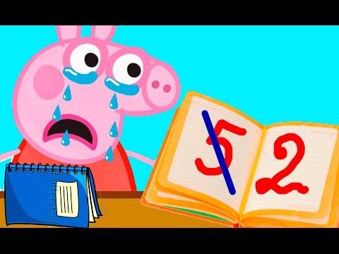 Прикольный мультик про Майнкрафт про свинку