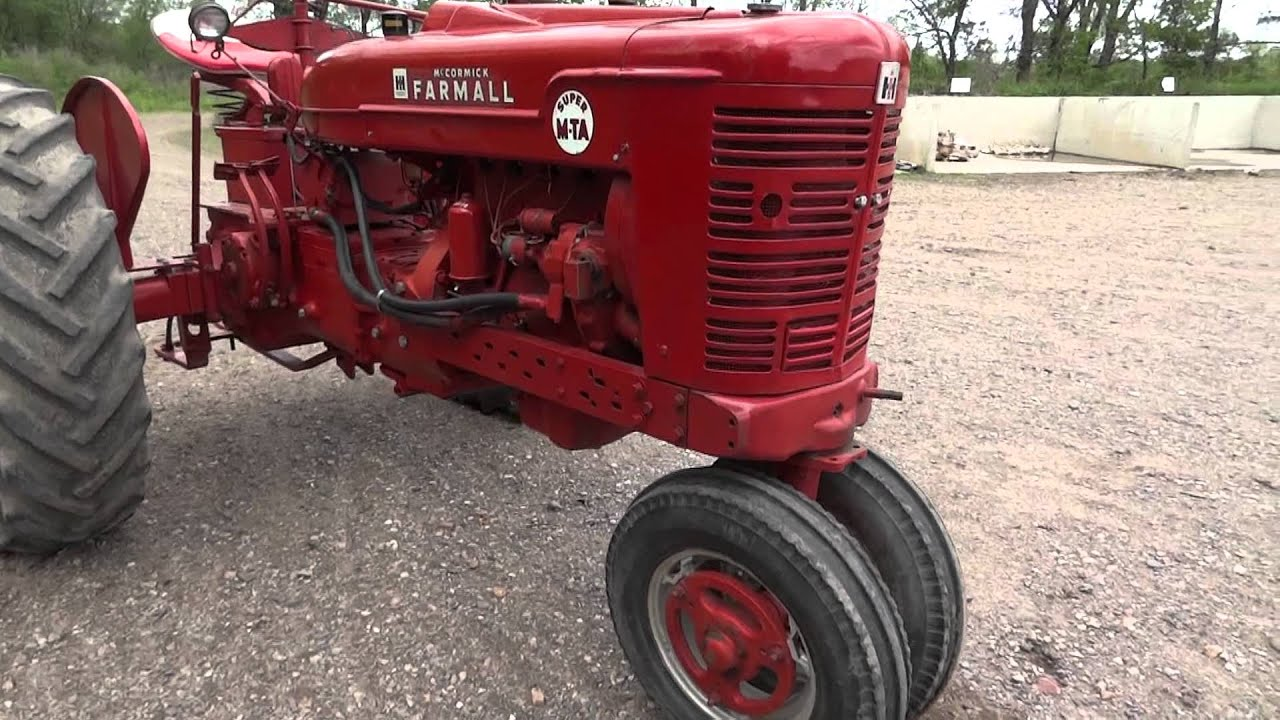 Farmall M Live Hydraulics Diagram Opinions About Wiring Md Super Mta Tractor With Pto Rear And Good Rh Youtube Com