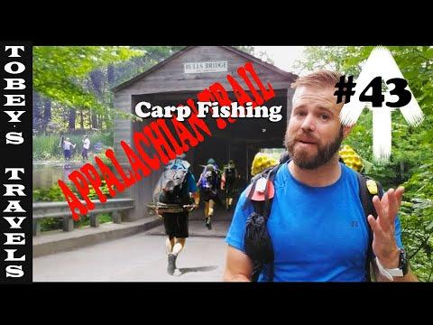 Appalachian Trail Thru Hike: (EP 043) Carp Fishing On The Housatonic River