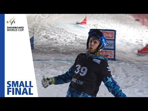 Auner vs. Rogozin | Small Final | Moscow | Men's PSL | FIS Snowboard