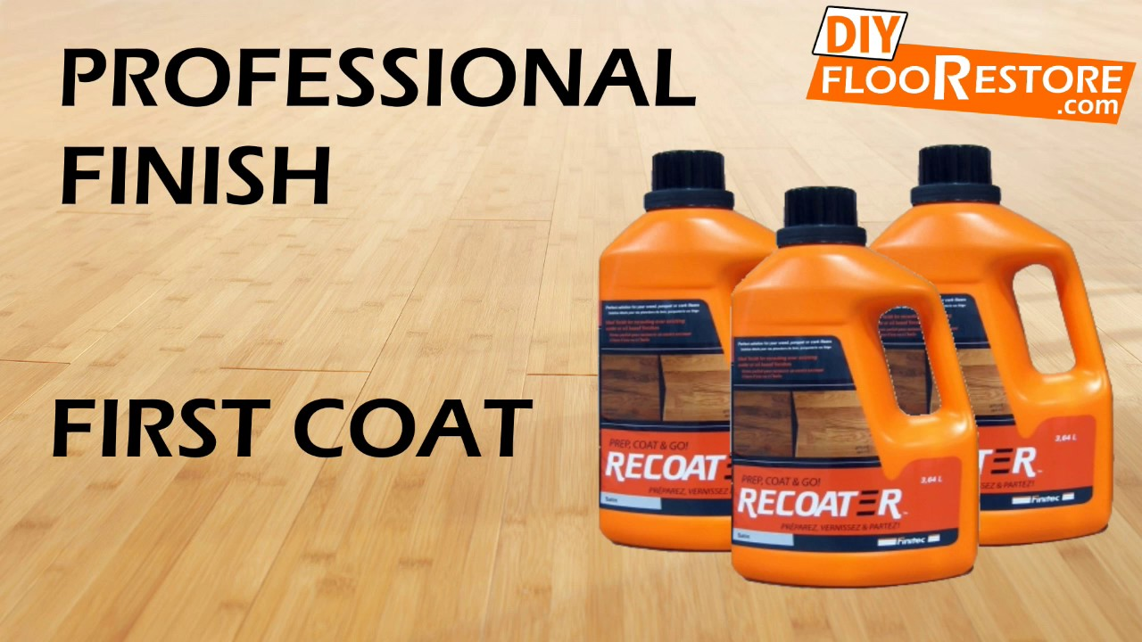 Diy How To Refinish A Wood Floor Without Sanding Youtube