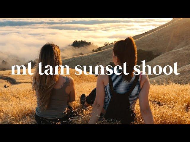 VLOG: Sunsets at Mount Tam