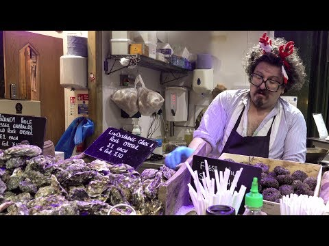 Oyster Bars, Seafood And Fish Shops. London Street Food