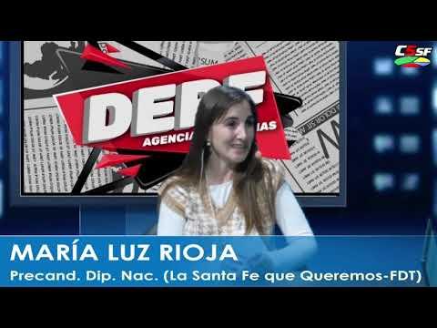 María Luz Rioja: Todos saben quién es y qué hizo Agustín Rossi