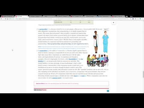 ACCT 2301 Chapter 1 Homework