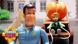 James and the Giant Pumpkin! | Fireman Sam US | Pontypandy Heroes | Stop Motion Play