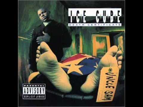 Ice Cube - 1991- Death Certificate-Black Korea-NO SELLOUT ZONE