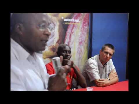 Crioulo Santomense  - Animado debate com Tjerk Hagemeijer