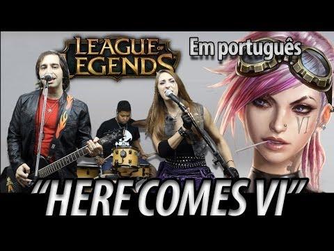 League of Legends Music: Here Comes VI (Português)