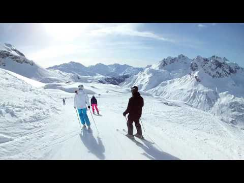 The best skiing 2017 (St. Anton/Lech/Zürs/Warth/Schröcken, Austria).