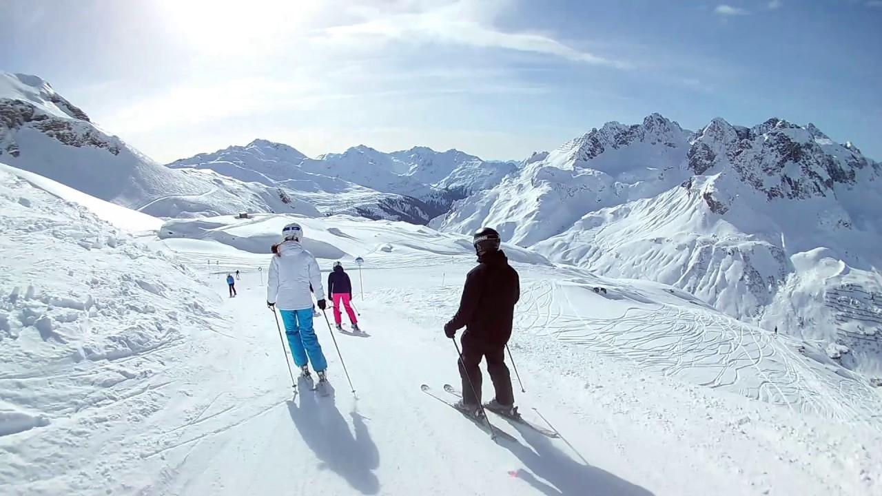 The best skiing 2017 (St. Anton/Lech/Zürs/Warth/Schröcken, Austria).