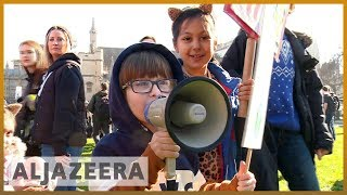 🇬🇧 Climate change: UK children demand government action l Al Jazeera English