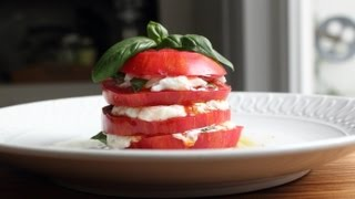Tomato & Mozzarella Salad with Burrata Cheese – How to Make the World's Sexiest Caprese Salad