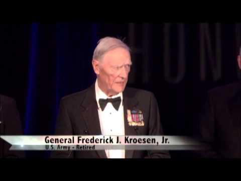 Audie Murphy Award Presented to General Frederick J. Kroesen, Jr.~ American Veterans Center