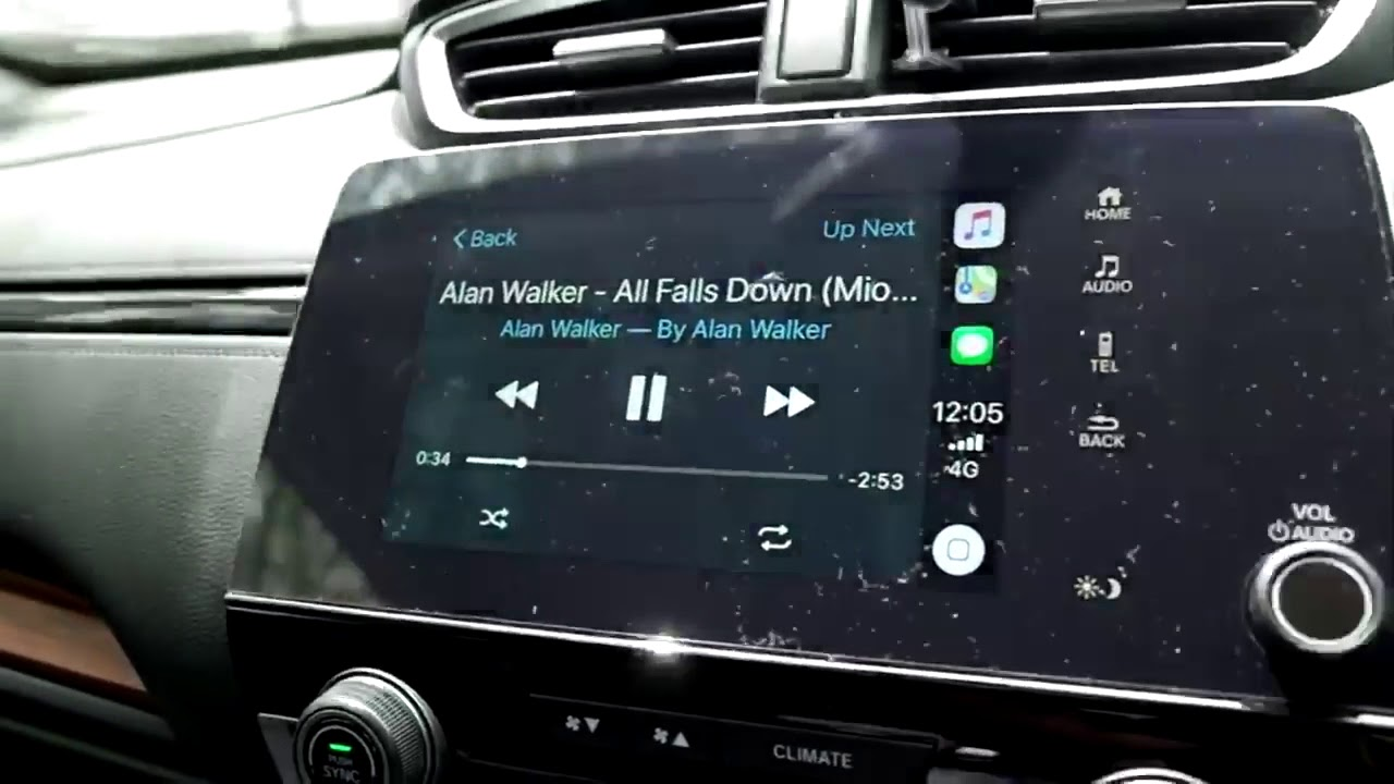 Honda Hack: Using Waze with connecting to Apple CarPlay