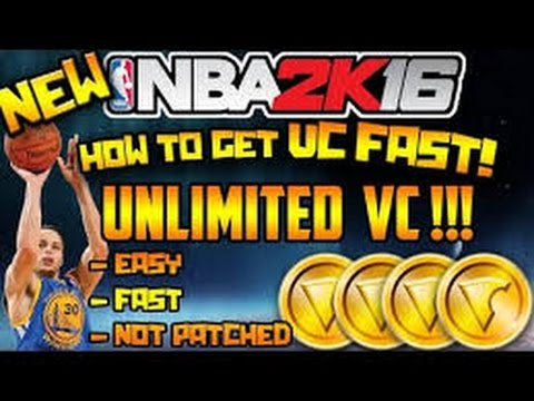 NBA 2K16: How to get LOTS of VC FAST!!!