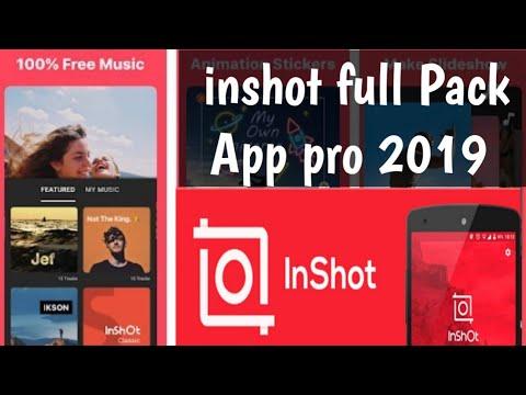 Inshot Apk 2019 Best mobile video Editing software Technicalrightway