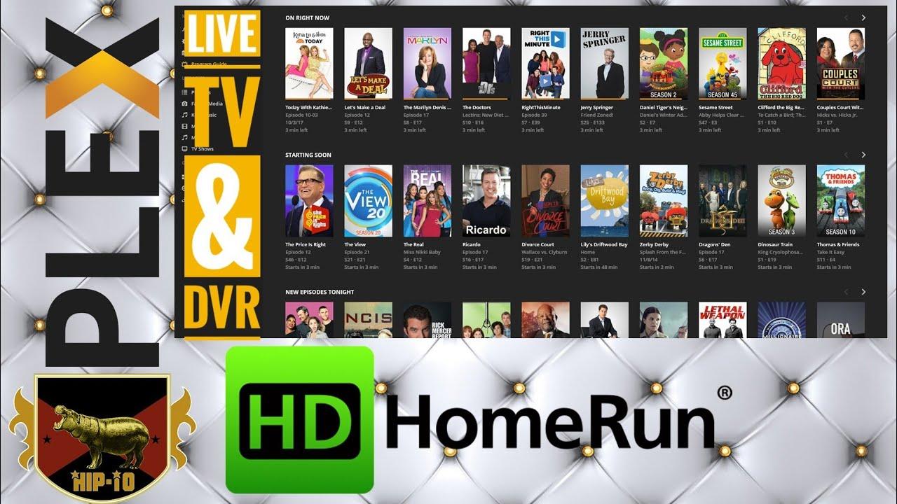 Plex Live TV & DVR - Setup & Demo