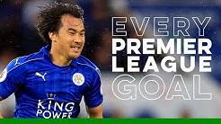 Shinji Okazaki: Every Premier League Goal