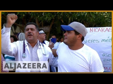 🇳🇮 Medical staff in Nicaragua sacked for treating protesters   Al Jazeera English