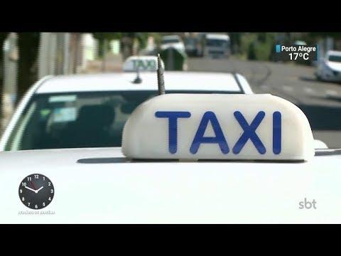 Taxistas reclamam da falta de segurança no Rio Grande do Sul   SBT Notícias (15/02/18)