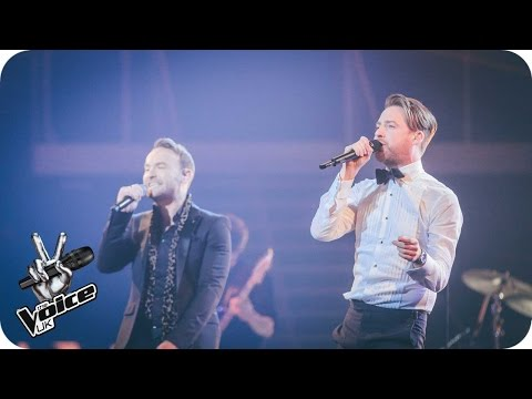 Ricky Wilson And Kevin Perform 'Mr. Brightside': The Live Final - The Voice UK 2016