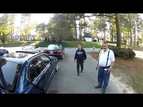 BMW E38 7 series Scott's Meet&Greet tool time Franklin VA