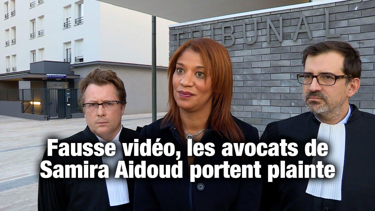 Fausse vid o les avocats de samira aidoud portent plainte for Portent translation