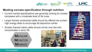 Nutrition of Finishing Cattle - The Science - Dr Francis Lively (AFBI)