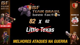 Clash of Clans - WAR #47 - BF Team Brasil 82 x 62 LittleTexas