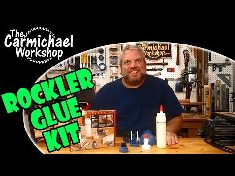Rockler Glue Bottle Applicator Kit Unboxing