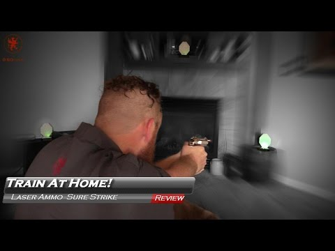 Shoot at Home with Laser Ammo