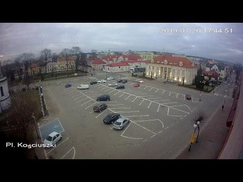 KAMERY IP SOKÓŁKA TV: Plac Kościuszki NA ŻYWO