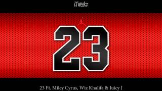 23 Ft. Miley Cyrus, Wiz Khalifa & Juicy J (CAKED UP Remix) [Bass Boosted]